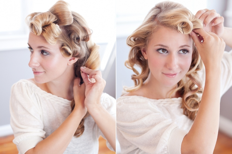 Wedding Hairstyles/ DIY Wedding Hair Messy Chignon Featured on ...