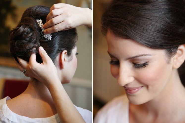 Rockleigh Country Club Wedding Hair & makeup 003