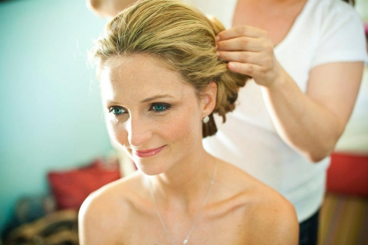 Wedding hair & makeup @ Congress Hall - Cape May, NJ (2)