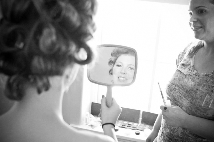 Wedding hair & makeup @ Congress Hall - Cape May, NJ (4)