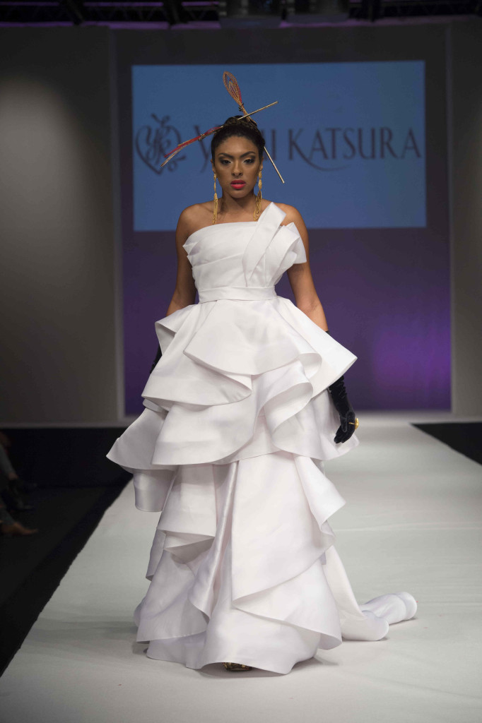 wedding gown by designer yummy katsura